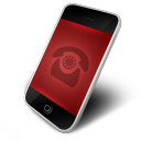 Phone Red Icon