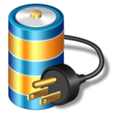 128x128px size png icon of battery power