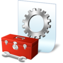 128x128px size png icon of box config