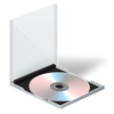 128x128px size png icon of cd jewel case