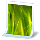 128x128px size png icon of document image bmp