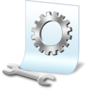 128x128px size png icon of document preferences