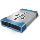 128x128px size png icon of drive usb