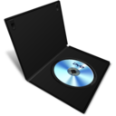 128x128px size png icon of dvd case