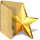 128x128px size png icon of folder fav