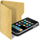 128x128px size png icon of folder iphone