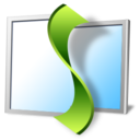 128x128px size png icon of monitor helix