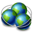 128x128px size png icon of network ring