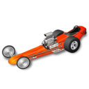 128x128px size png icon of racing car