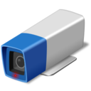 128x128px size png icon of security camera