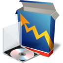 128x128px size png icon of stats
