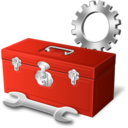 128x128px size png icon of tool box preferences