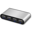 128x128px size png icon of usb hub