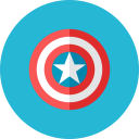 Captain Shield Icon