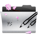 128x128px size png icon of Folder Photoshop