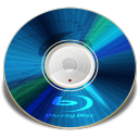128x128px size png icon of Hardware Blu ray disc