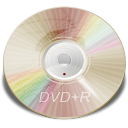 128x128px size png icon of Hardware DVD plus R