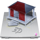 128x128px size png icon of Software 3D