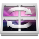 Gray Aurora Icon