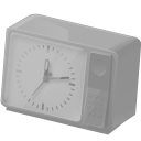 128x128px size png icon of Clock disabled