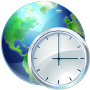 128x128px size png icon of Time Zones