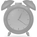128x128px size png icon of Alarm clock disabled