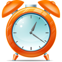 128x128px size png icon of Alarm clock