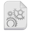 128x128px size png icon of app x executable