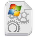 app x ms dos executable Icon