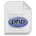 128x128px size png icon of app x php