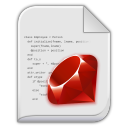 128x128px size png icon of app x ruby