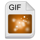 128x128px size png icon of gif