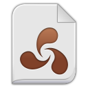 128x128px size png icon of opera unite app