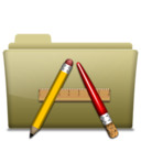 128x128px size png icon of Folder Application Brown