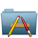 128x128px size png icon of Folder Application