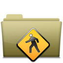 128x128px size png icon of Folder Public Brown