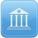 128x128px size png icon of Library Folder