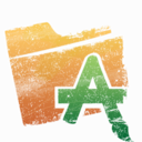 128x128px size png icon of Folder   Applications