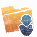 128x128px size png icon of Folder   Users