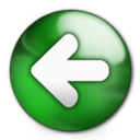 128x128px size png icon of Back Button
