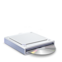 128x128px size png icon of CD DVD Drive
