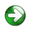 128x128px size png icon of Forward Button