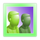 128x128px size png icon of Group Online