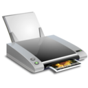 128x128px size png icon of Printers and Faxes