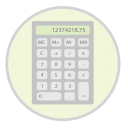 128x128px size png icon of Calculator