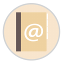 128x128px size png icon of Contacts