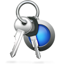 128x128px size png icon of Keychain Access