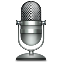 128x128px size png icon of Microphone