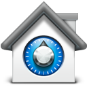 128x128px size png icon of Safe
