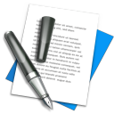 128x128px size png icon of TextEdit